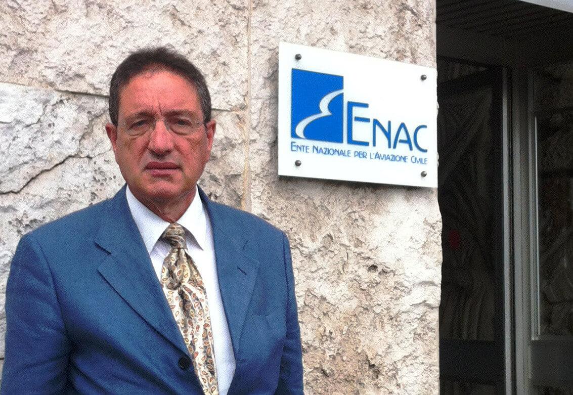 foto Presidente Sogas Carlo Alberto Porcino in ENAC ROMA