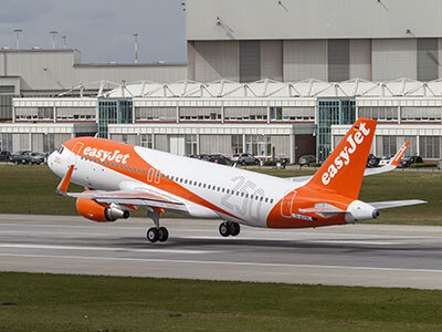 Aeroporto Lamezia Terme EasyJet A320