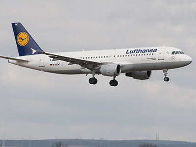 Aeroporto Lamezia Terme Lufthansa A320