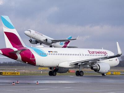 Eurowings voli Aeroporto Lamezia Terme