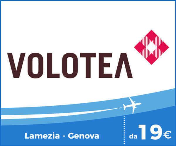 Volotea Voli Aeroporto Lamezia Terme - Genova