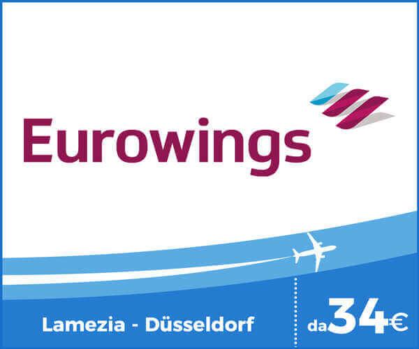 Eurowings Voli Aeroporto Lamezia Terme - Dusseldorf