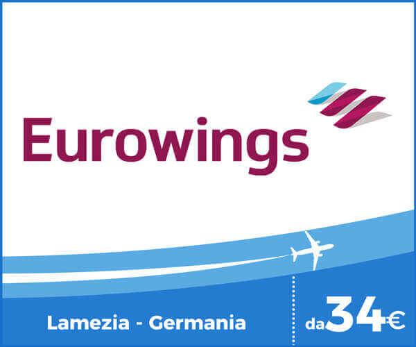 Eurowings voli Aeroporto Lamezia Terme - Germania