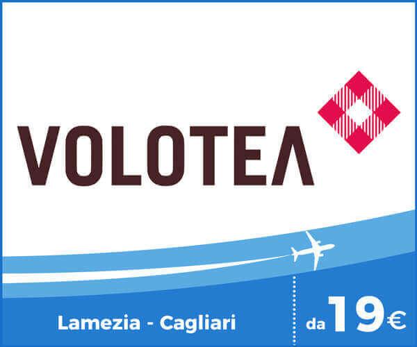 Volotea Voli Aeroporto Lamezia Terme - Cagliari