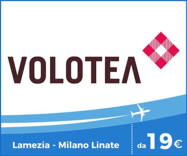 Volotea Voli Aeroporto Lamezia Terme - Milano Linate