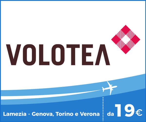 Volotea voli Aeroporto Lamezia Terme, Genova, Torino e Verona