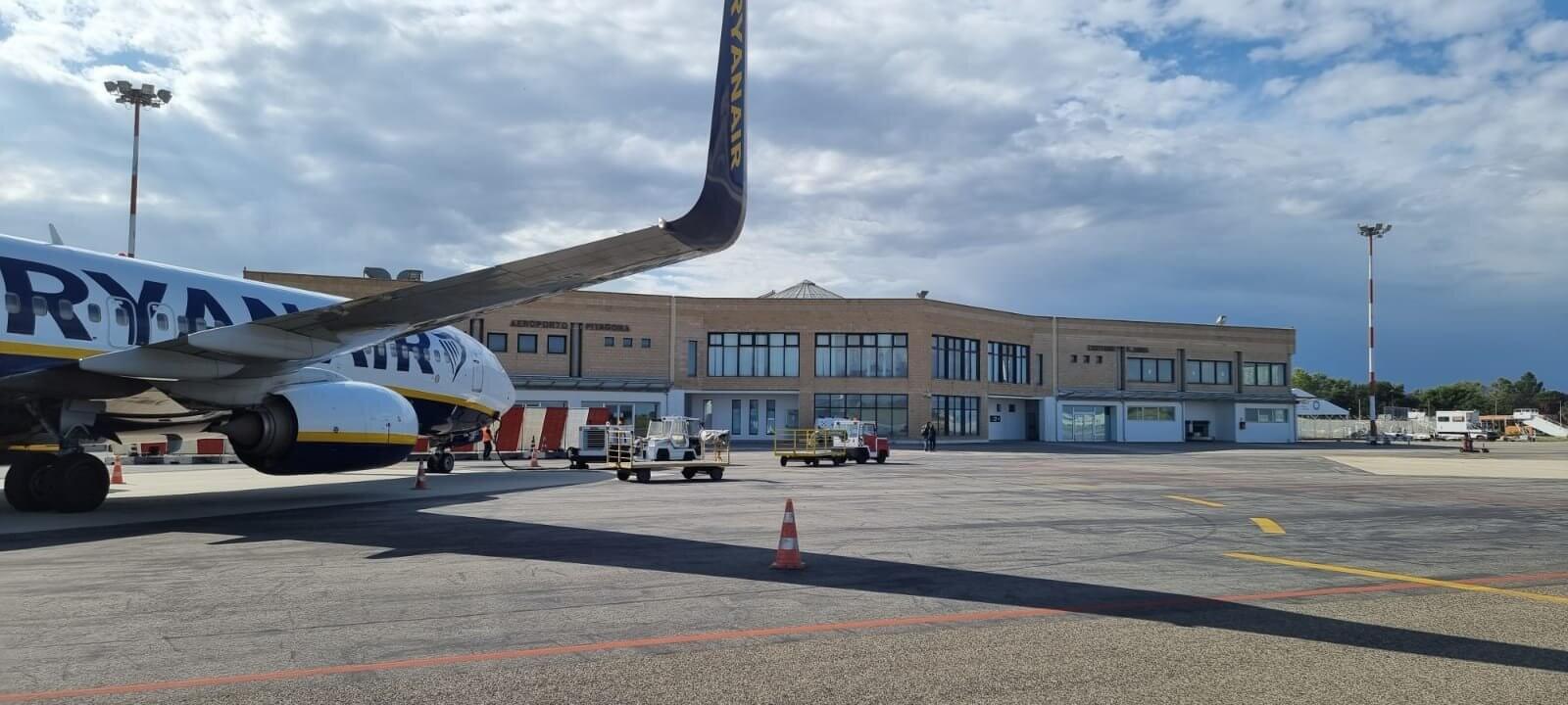 Aeroporto Crotone Ryanair
