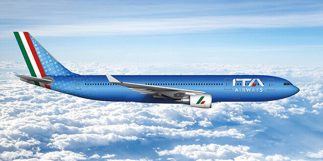 ITA Airways Voli Aeroporto Lamezia Terme e Reggio Calabria